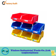 quick-pick plastic stackable storage bins ESD conductive industrial assembly operation