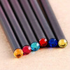 High Quality Crystal Characteristics and personality Black Wooden Pencil Diamond Pencils