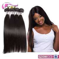 XBL 7A grade Smooth And Soft Chemical Free silicon hair product