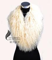COLLAR-S13 2014 New Unisex Tibetan Sheep Real Fur Collars