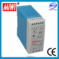 MDR-60-5 din rail dc 5v 60w case for plastic din rail power supply