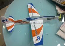 Cardboard Foam Gliders Plane Toy paper craft 3d puzzle jigsaw for kids/children