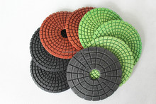Diamond wet grinding pad for grante and marble