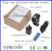 Bluetooth Ring Type Wireless 1D Laser Barcode Scanner For Mobile Solution