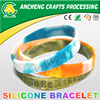 Hot Promotion custom silicone band/rubber wrist band/rubber band with cheap