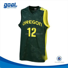 Custom blank sublimation printing popular basketball warm up tops black