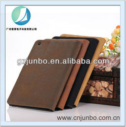Vintage Book Style Stand Leather Case For iPad Mini