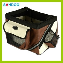 High quality bike pet carrier, bike pet travel bag