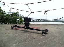 Upgrade design DSLR Camera Video Slider with wheels 0.6M
