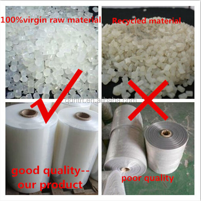 LLDPE material and stretch film type soft pallet packing film made in china manufacturer