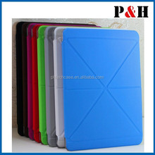 For iPad Air 2 folding leather standing case