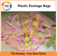 Beautiful Printing Cellophane Plastic Packing Bag For Candy