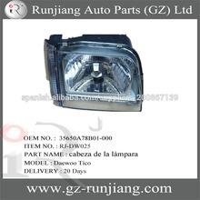 Daewoo cabeza de la lámpara 35650A78B01-000