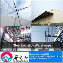 Q235& q345 basso magazzino costi di costruzione prefabbricati magazzino prezzo per logistica di magazzino