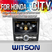 WITSON FOR HONDA CITY 2011 AUTO GPS NAVIGATION WITH CAPACTIVE SCREEN BLUETOOTH RDS 3G WIFI