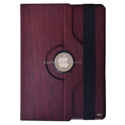 High quality PU leather stand case 360 rotating case for iPad pro