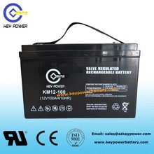12V 100Ah Gel battery Deep Cycle Solar battery for battery solar system