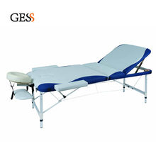 GESS 3-Section Aluminum Mixed Color Portable Massage Table GESS-2513