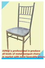 Cheap hotel and restaurant iron Banquet Chair (JQ-001D)
