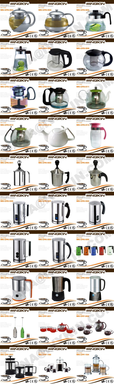 Кофе и Чайные Сервизы Посуда Типа и Нержавеющей Стали Тип Металла искусства из нержавеющей стали кувшин с водой,