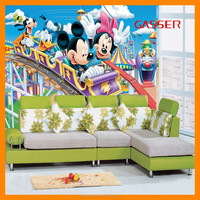 children wallpaper hot sales cartoon non-woven wallpaper for kids use in bedroom