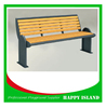 2015 Hot Selling Factory Directly Supply Wooden Garden Bench Garden Seat Metal