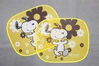 Factiry directly sale customized logo printed door window visor car sunshade
