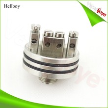 electronic cigarette 3 post design 1:1 clone hellboy atomizer