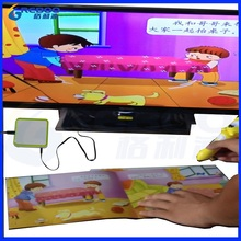 OEM Factory sale kids TV video talking pen with Audio books Classroom educational set