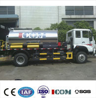 China best Sino truck ZQZ5161GLQ Standard bitumen emulsion sprayer