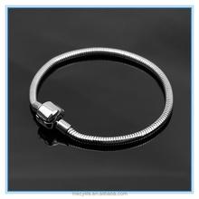 MECY LIFE 2015 wholesale high quality stainless steel snake bone bracelet
