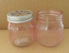 mini glass mason jar with metal cap 250ml nice glass jar buy mason jar