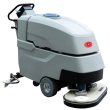 Automatic dual-brush ground cleaning machine,cleaner machine