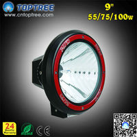 9'' Xenon 55W 75W 100W 12V OffRoad Light HID Spot Light Fog Light Tuning Accessories for Cars