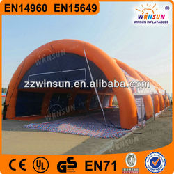 cheap commercial giant air inflatable dome tent for sale