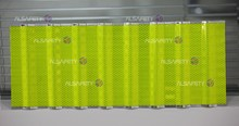 fluorescent yellow-green high intensity prisamtic reflective sheet-Linear anti-fog reflector