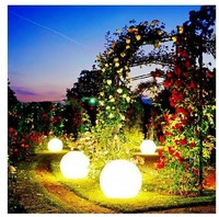 PE material waterproof color changing rechargable led balls led light ball / led ball light for indoor and outdoor use