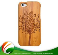 Exceptional Quality Custom Made Ultra Thin Wood Case For Iphone 5S