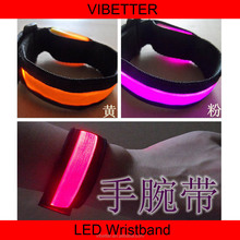 LB-15 Promotion Gift Led Flashing Light Wristband