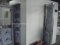Túnel tangible de la ducha de aire de la materia de la pantalla de visualización con el sistema de control de la microelectrónic