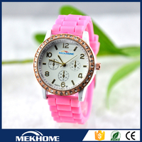 geneva silicone jelly watch