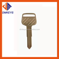 good quality car key for toyota used TOY43 brass key blank used cars for sale