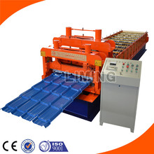 construction machine Color Steel Glazed Types Of Roof Tiles roof tile machine