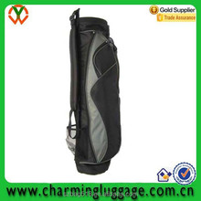 shoulder china custom golf bag/folding travel golf bag for golf club set
