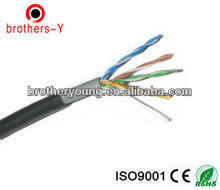 0.51MM 24 AWG cat5e utp bare copper/CCA/CCAU/CCAM lan cable