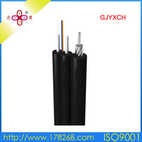self supporting optical fiber cable 2 core flexible cable self-support cable
