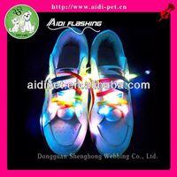 LED light up shoelace Party flashing shoe laces / buy flashing shoelace