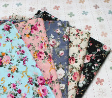 100% Cotton Material and Combed Yarn Country Rose Type 100% Cotton Fabric