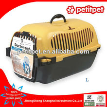 yellow big american style flight cage,pet air carrier,pet air box