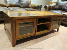 Golden cherry colour living room coffee tables furniture large coffee table